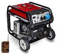 Электрогенератор бензиновый 7 кВт 220 В Senci SC8000-II с дистанционным пультом