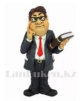 Сувенирная Фигурка Учитель с книжкой и в очках 14.5 см