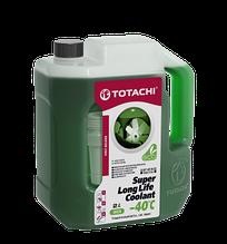 Антифриз TOTACHI SUPER LONG LIFE COOLANT Green -40C 2кг