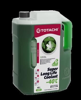 Антифриз TOTACHI SUPER LONG LIFE COOLANT Green -40C 4кг