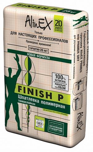 Шпатлека полимерная Alinex Finish P, 25кг