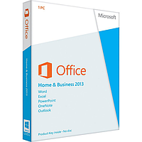 Microsoft Office 2013 Home and Business , 1ПК, DVD, BOX