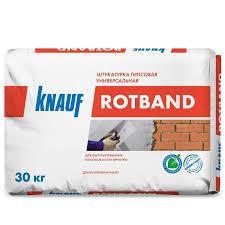 Штукатурка гипсовая 30 кг/ Knauf Ротбанд