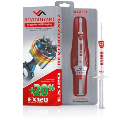 Ревитализант XADO EX120 для бензиновых двигателей 8мл.