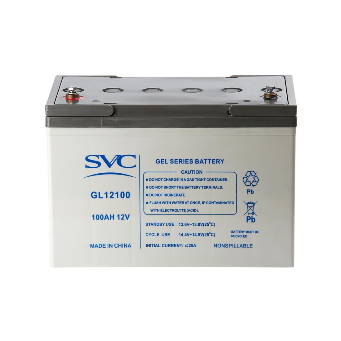 Аккумуляторная батарея SVC GL12100 12В 100 Ач