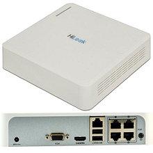 NVR-104H-D/4P - 4-х канальный сетевой видеорегистратор с разрешением записи до 4MP на канал, с 4 PoE-портами.