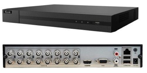 DVR-216U-K2 - 16-ти канальный гибридный видеорегистратор с разрешением записи до 8 MP  и 2-мя SATA-интерфейсами.