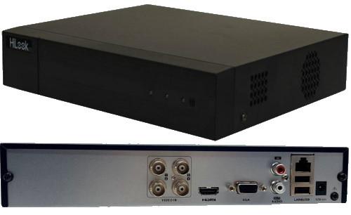 DVR-204Q-K1 - 4-х канальный гибридный видеорегистратор с разрешением записи до 6 MP на канал.