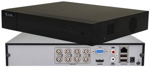 DVR-208Q-K1 - 8-ми канальный гибридный видеорегистратор с разрешением записи до 6 MP на канал.