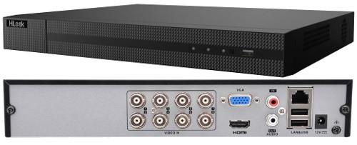 DVR-208Q-K2 - 8-ми канальный гибридный видеорегистратор с разрешением записи до 4 MP на канал и 2-мя SATA-интерфейсами.