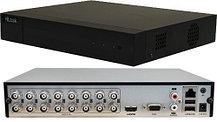 DVR-216Q-K1 - 16-ти канальный гибридный видеорегистратор с разрешением записи до 6 MP на канал.