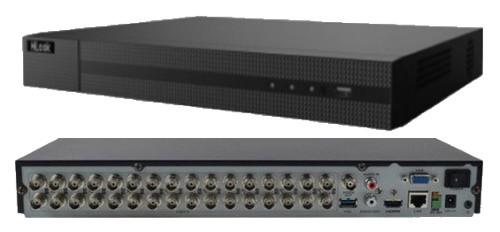 DVR-224Q-K2 - 24-х канальный гибридный видеорегистратор с разрешением записи до 4 MP на канал и 2-мя SATA-интерфейсами.