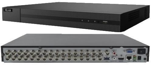 DVR-232Q-K2 - 32-х канальный гибридный видеорегистратор с разрешением записи до 4 MP на канал и 2-мя SATA-интерфейсами.