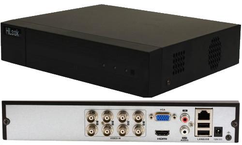 DVR-208G-F1 - 8-ми канальный гибридный Turbo HD-видеорегистратор с разрешением записи до 2 MP на канал.