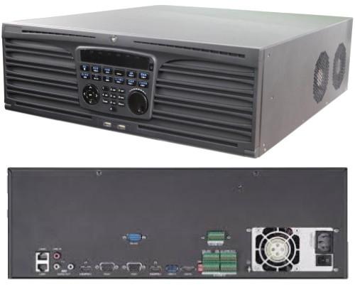 DS-9664NI-I16 - 64-х канальный сетевой 12МP-видеорегистратор с 16-ю SATA-интерфейсами.