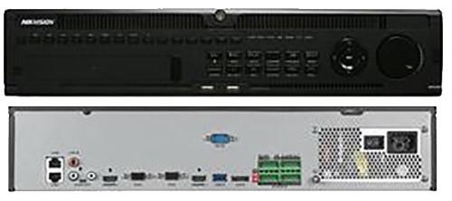 DS-9664NI-I8 - 64-х канальный сетевой 12МP-видеорегистратор с 8-ю SATA-интерфейсами.
