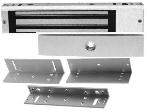 DS-K4H188S + DS-K4H188-LZ - Комплект электромагнитного замка DS-K4H188S и монтажных уголков DS-K4H188-LZ.