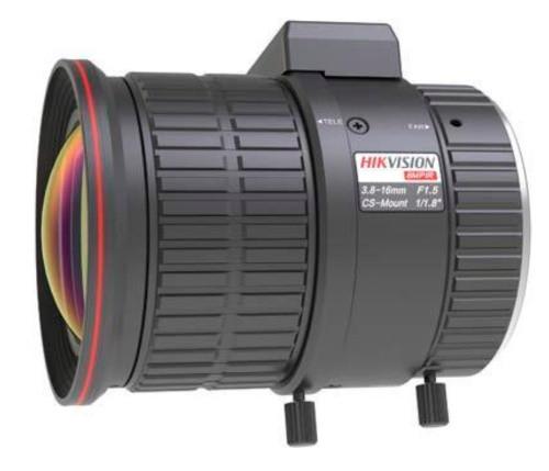 HV-3816D-8MPIR - 8MP вариофокальный асферический ИК-объектив с автодиафрагмой.