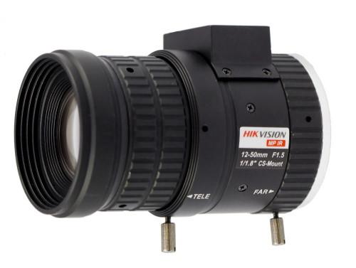 HV-1250D-MPIR - 3MP вариофокальный ИК-объектив с автодиафрагмой.
