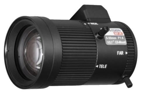 TV-0550D-MPIR - 3MP вариофокальный асферический ИК-объектив с автодиафрагмой.