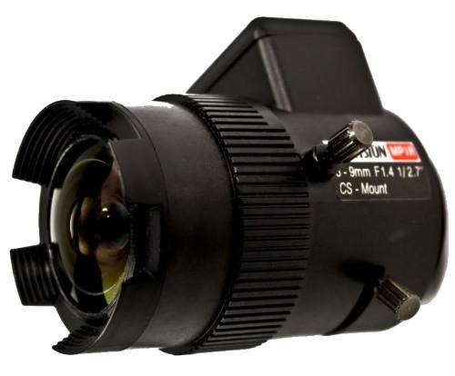 TV-2712D-MPIR - 3MP вариофокальный асферический ИК-объектив с автодиафрагмой.