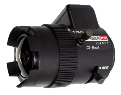 TV-2712P-MPIR - 3MP вариофокальный асферический ИК-объектив, P-Iris.