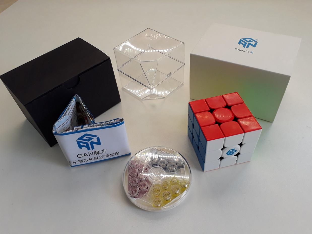 Магнитный Кубик Рубика 3 на 3 Gan 354 M