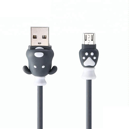 Кабель Remax RC-106m Micro USB Grey, фото 2
