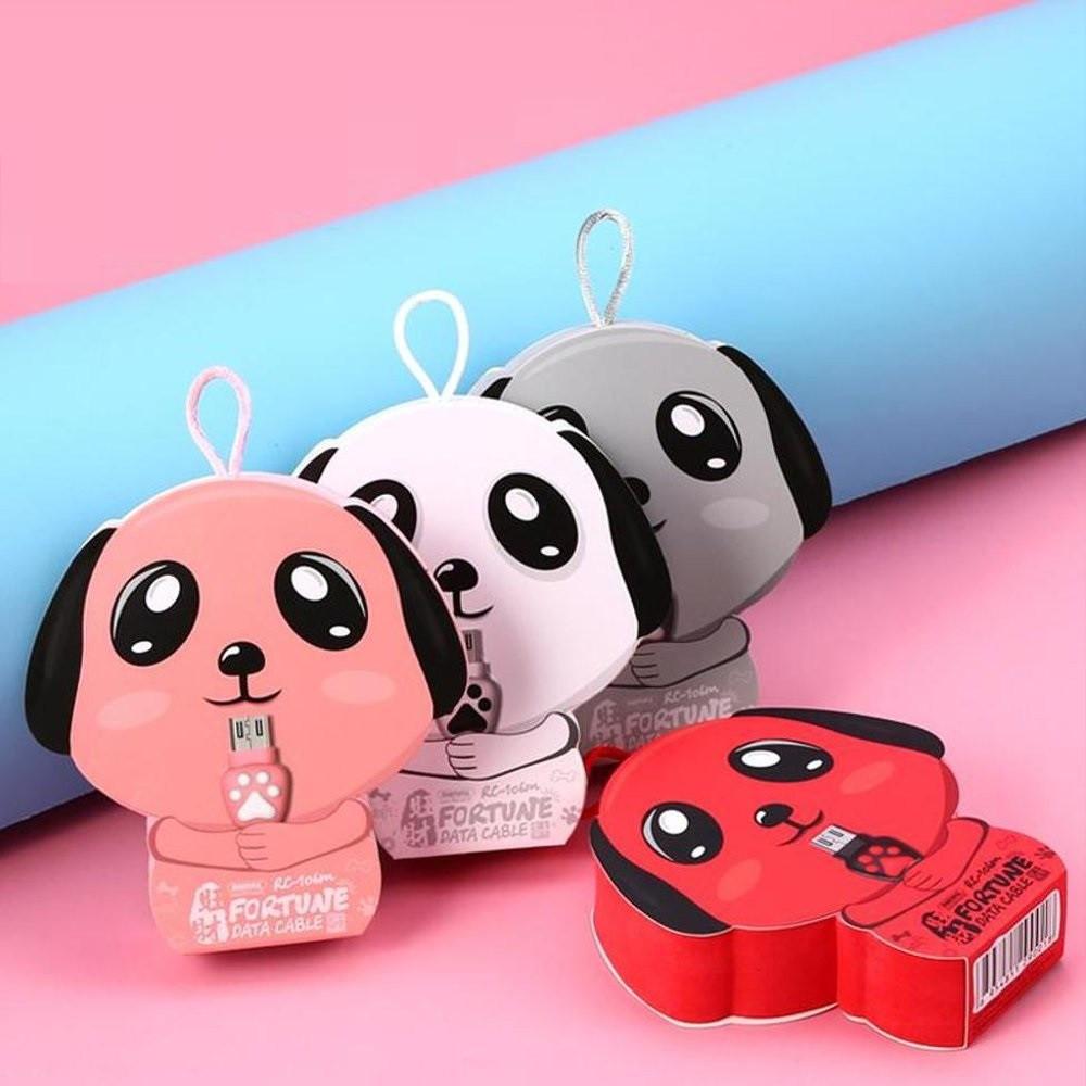 Кабель Remax RC-106m Micro USB Pink