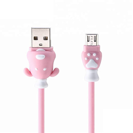 Кабель Remax RC-106m Micro USB Pink, фото 2