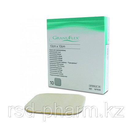 Пластыри для лечения пролежней Грануфлекс Granuflex 10х10 см (поштучно), фото 2