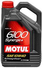 Моторное масло Motul 6100 Synergie+ 5W40 5L.