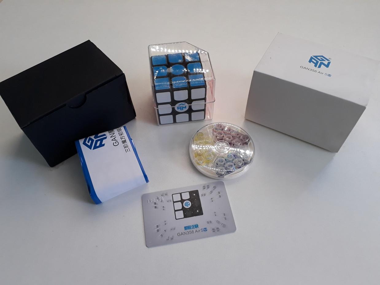 Магнитный Кубик Рубика 3x3x3 Gan 356 Air SM. Оригинал 100%