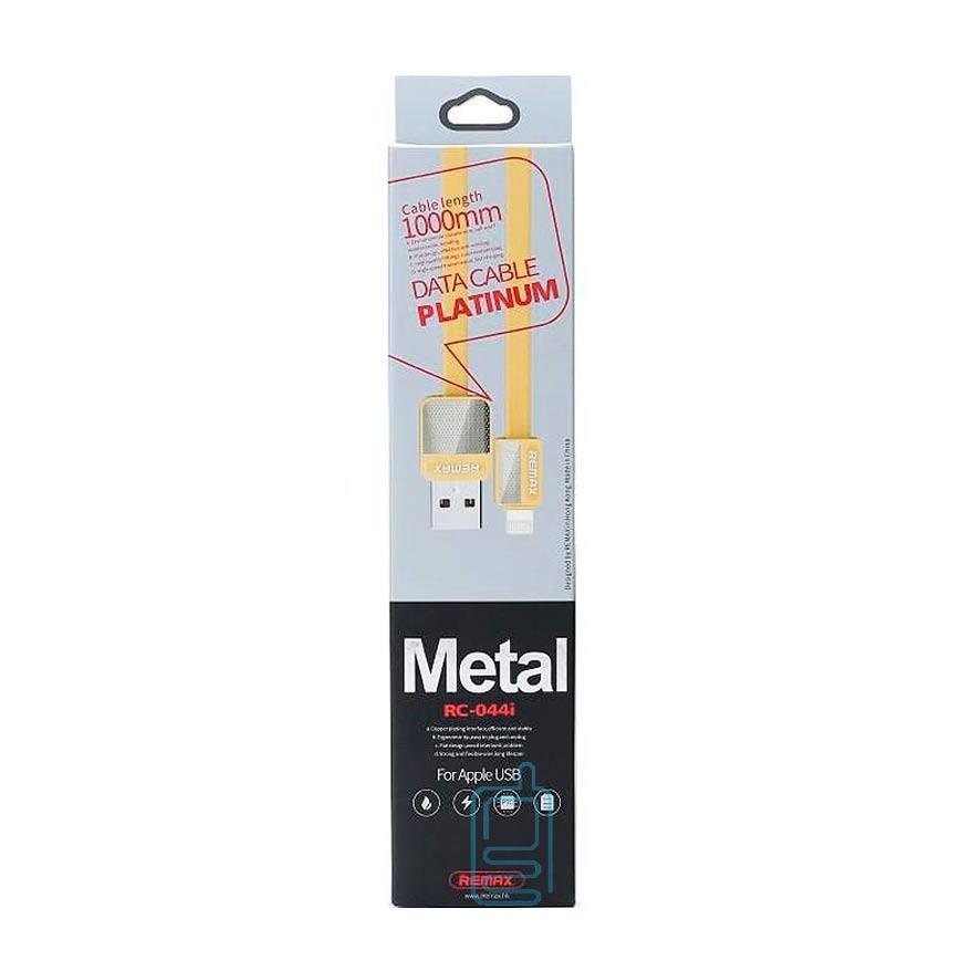 Кабель Remax RC-044i Lightning USB iphone Gold