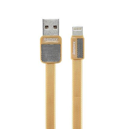 Кабель Remax RC-044i Lightning USB iphone Gold, фото 2