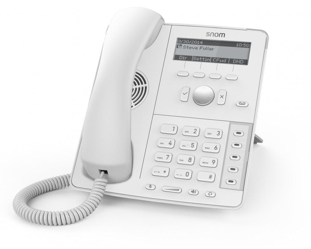 Snom D715 настольный IP-телефон White