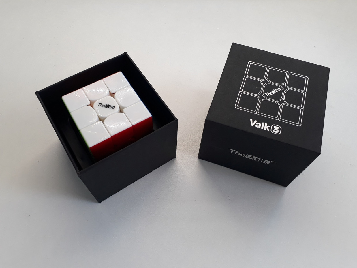 Кубик Рубика 3x3x3 Valk3 Цветной - подарите сыну