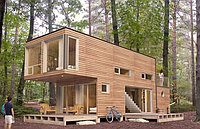 Дом из контейнера. Модель ВС6