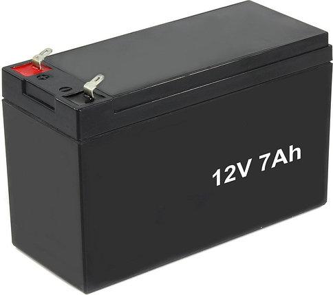 Аккумулятор 12В 7А/Ч герметичный свинцово-кислотный, фото 2