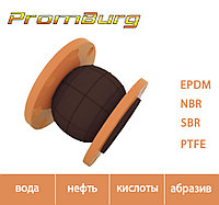 Резиновый компенсатор для нефтепродуктов Ду100 Ру10/16, фото 1