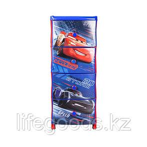 """Комод детский """"Тачки 3-Дисней"""" пластиковый, М6639, фото 2"""