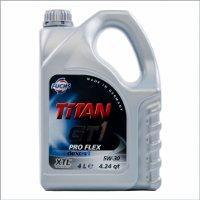 Моторное масло  TITAN GT1 PRO FLEX 5W-30 4 литра