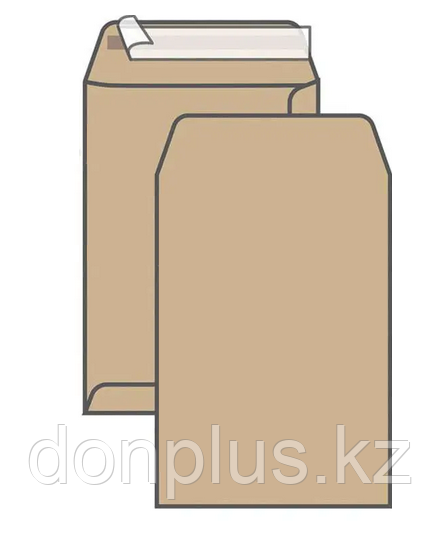 Конверт С4 UltraPac (229х324 мм) пакет, коричневый