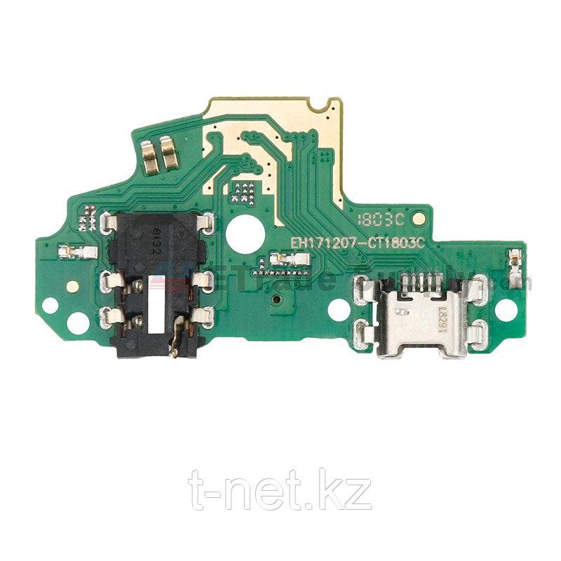 Нижняя плата Huawei P smart FIG LX1 для зарядки с микрофоном