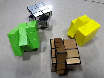 Зеркальные кубики - Mirror