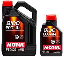 Моторное масло Motul 8100 Eco-Lite 5W30 5L