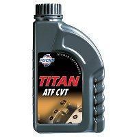 Трансмиссионное масло TITAN ATF CVT (жёлтый) 1  литр