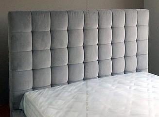 Кровать с мягким изголовьем RIMK-21