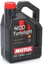 Моторное масло Motul 4100 Turbolight 10W40 4L