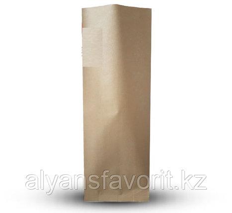 Пакет дой пак бумажный крафт с центральным швом (двухшовный), фото 2